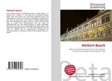 Couverture de Herbert Baack