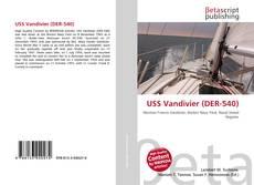 Portada del libro de USS Vandivier (DER-540)
