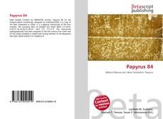 Copertina di Papyrus 84