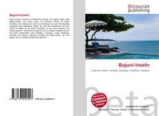 Bookcover of Bajuni-Inseln