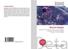 Bookcover of Hennie Kuiper