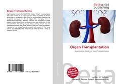 Обложка Organ Transplantation