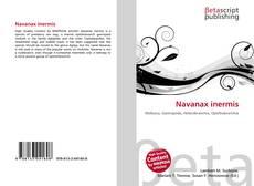 Bookcover of Navanax inermis