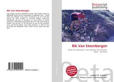Bookcover of Rik Van Steenbergen