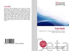 Buchcover von Yuki Maki