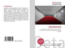 Lída Baarová kitap kapağı