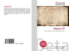 Bookcover of Papyrus 97