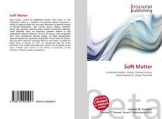 Copertina di Soft Matter