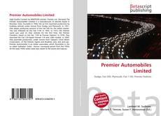 Capa do livro de Premier Automobiles Limited