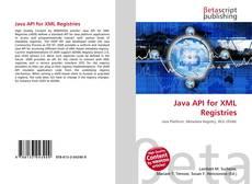 Bookcover of Java API for XML Registries