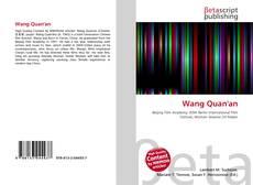 Wang Quan'an kitap kapağı
