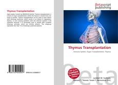 Bookcover of Thymus Transplantation