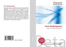 Tom Shakespeare kitap kapağı