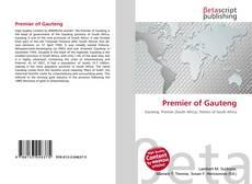 Portada del libro de Premier of Gauteng