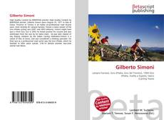 Bookcover of Gilberto Simoni
