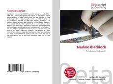 Copertina di Nadine Blacklock