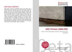Portada del libro de USS Vinton (AKA-83)