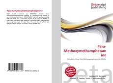 Capa do livro de Para-Methoxymethamphetamine