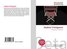 Обложка Nadine Trintignant