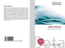 Bookcover of Nadir Afonso