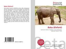 Bookcover of Baba (Elefant)
