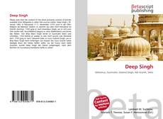 Bookcover of Deep Singh