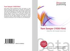Tom Sawyer (1930 Film) kitap kapağı