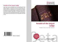Parable of the Unjust Judge kitap kapağı