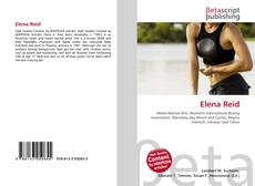 Bookcover of Elena Reid