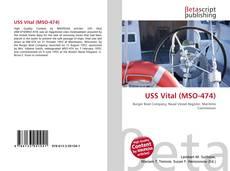 USS Vital (MSO-474) kitap kapağı