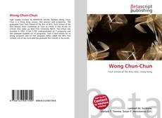 Wong Chun-Chun kitap kapağı