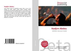 Bookcover of Nadjim Abdou
