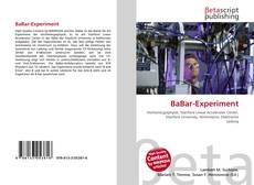 Portada del libro de BaBar-Experiment