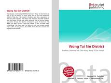 Bookcover of Wong Tai Sin District