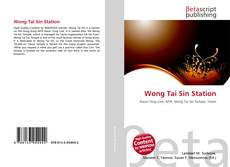 Bookcover of Wong Tai Sin Station