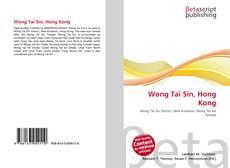 Bookcover of Wong Tai Sin, Hong Kong