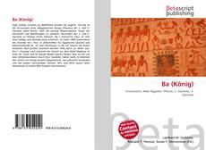 Portada del libro de Ba (König)