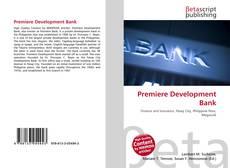 Buchcover von Premiere Development Bank