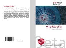 Couverture de MHC Restriction