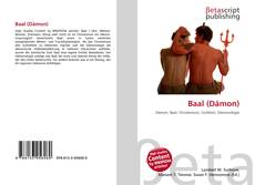 Capa do livro de Baal (Dämon)
