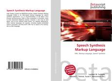 Speech Synthesis Markup Language kitap kapağı