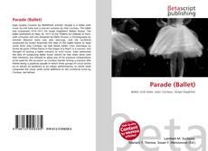 Capa do livro de Parade (Ballet)