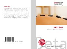 Heaf Test的封面