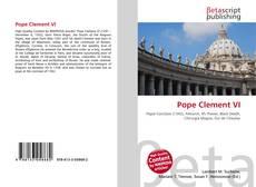 Buchcover von Pope Clement VI