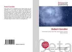 Bookcover of Robert Gendler