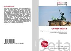 Bookcover of Günter Baaske