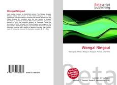 Bookcover of Wongai Ningaui