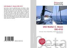 Capa do livro de USS Walter C. Wann (DE-412)