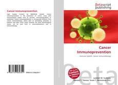 Cancer Immunoprevention的封面