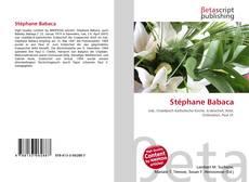 Portada del libro de Stéphane Babaca